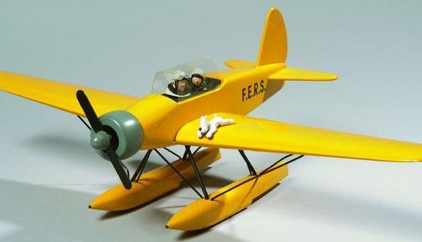 avion tintin